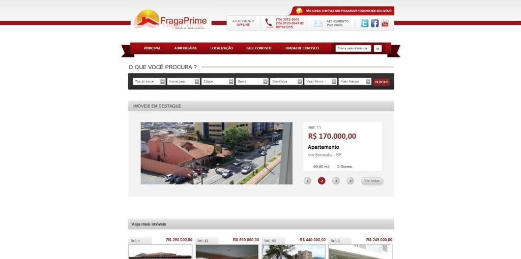 imobiliária fraga prime sorocaba