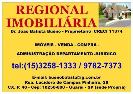 regional imobiliária guareí