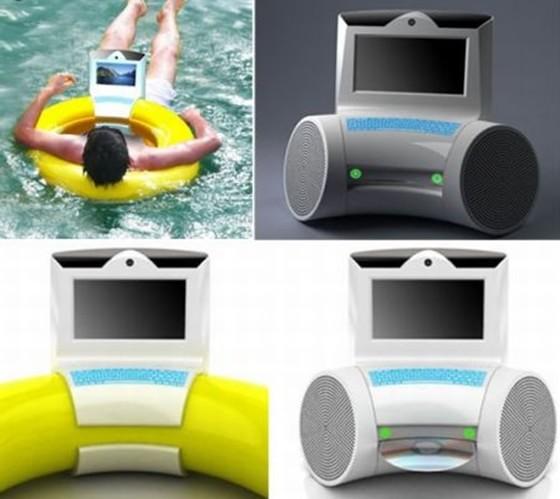 pequenas invenções computador para piscina