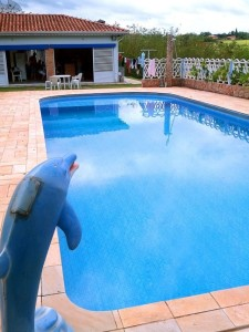 chacara com piscina tatui venda condominio ecopark